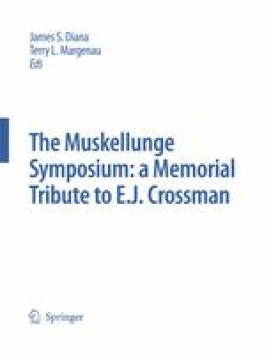 The Muskellunge Symposium: A Memorial Tribute to E.J. Crossman