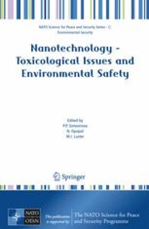 Nanotechnology – Toxicological Issues and Environmental Safety and Environmental Safety