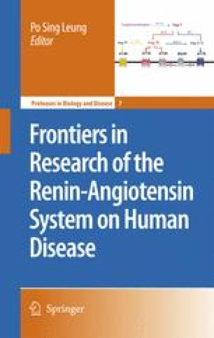Frontiers in Research of the Renin-Angiotensin System on Human Disease