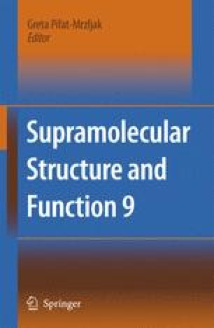 Supramolecular Structure and Function 9