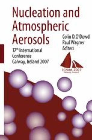 Nucleation and Atmospheric Aerosols