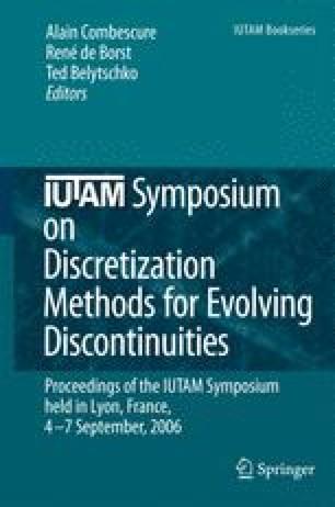 IUTAM Symposium on Discretization Methods for Evolving Discontinuities