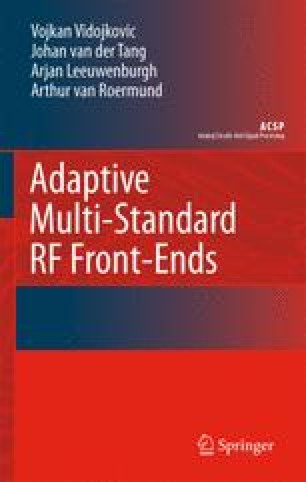 Adaptive Multi-Standard RF Front-Ends