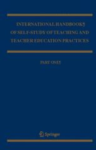 International Handbook of Self-Study of Teaching and Teacher Education Practices