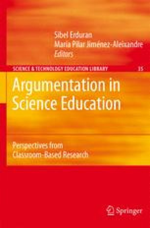 Argumentation in Science Education