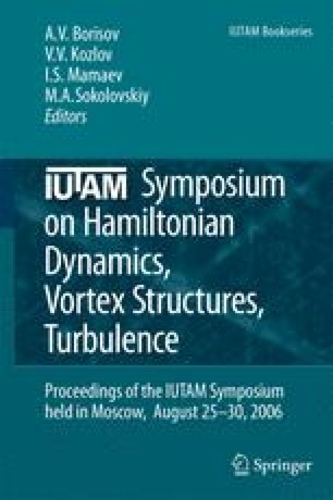 IUTAM Symposium on Hamiltonian Dynamics, Vortex Structures, Turbulence
