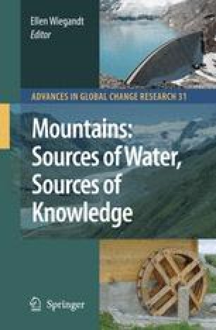 Mountains: Sources of Water, Sources of Knowledge
