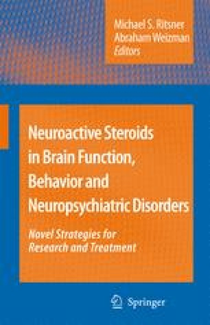 Neuroactive Steroids in Brain Function, Behavior and Neuropsychiatric Disorders