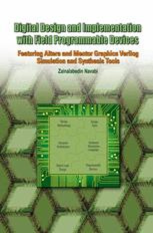 Digital Design And Implementation With Field Programmable Devices Springerlink
