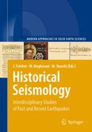 Historical Seismology