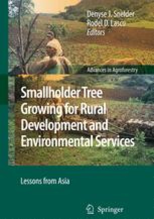 Restoration of Philippine Native Forest by Smallholder Tree