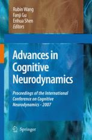 Advances in Cognitive Neurodynamics ICCN 2007