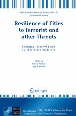 Resilience of Cities to Terrorist and other Threats