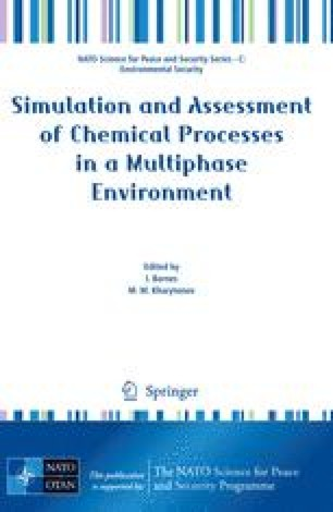 Simulation and Assessment of Chemical Processes in a Multiphase Environment