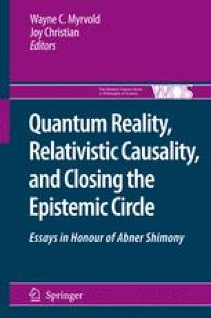 Quantum Reality, Relativistic Causality, and Closing the Epistemic Circle