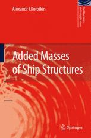 Added Masses of Ship Structures