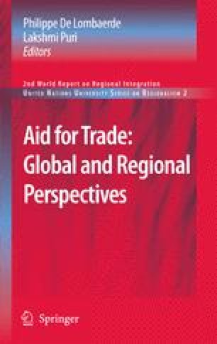 Aid for Trade: Global and Regional Perspectives
