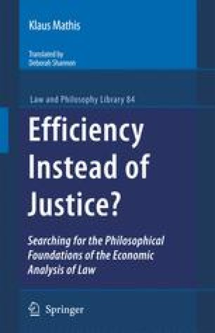 Efficiency Instead of Justice?