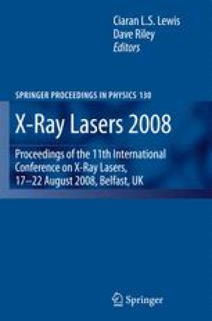 X-Ray Lasers 2008