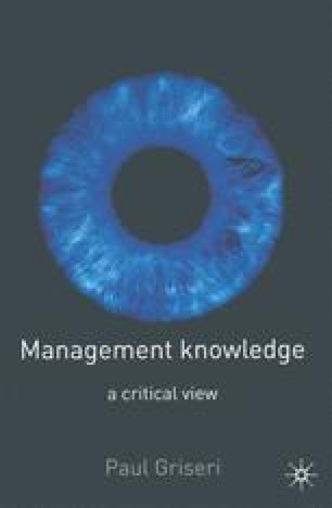 Management Knowledge