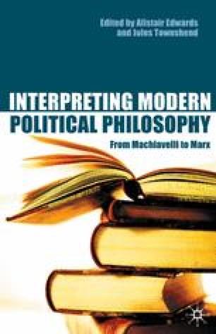 Interpreting Modern Political Philosophy