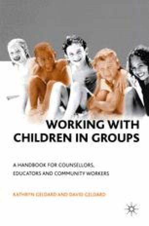 Working with Children in Groups