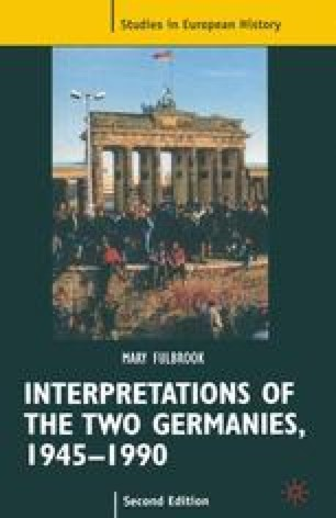 Interpretations of the Two Germanies
