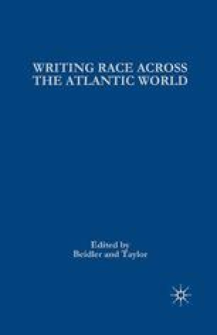 Writing Race Across the Atlantic World