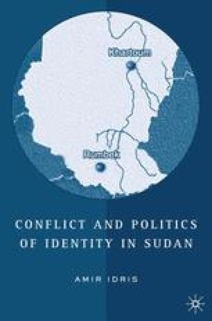 Conflict and Politics of Identity in Sudan