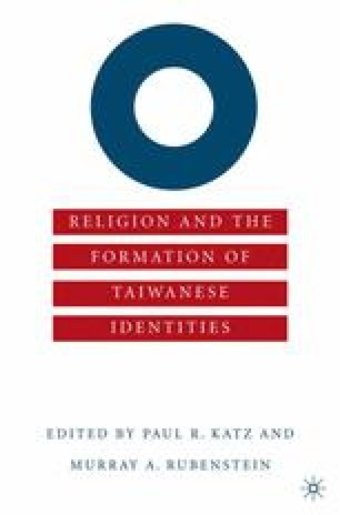 Anthropology and Identity Politics in Taiwan: The Relevance of Local