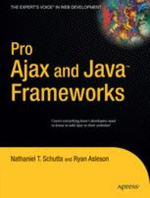 Pro Ajax and Java™ Frameworks