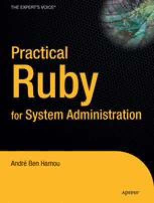 Practical Ruby for System Administration