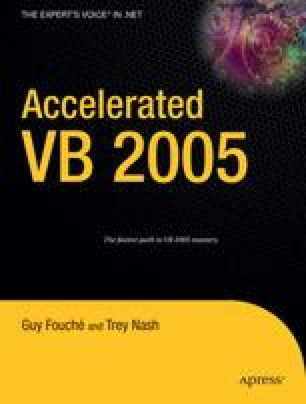 Accelerated VB 2005
