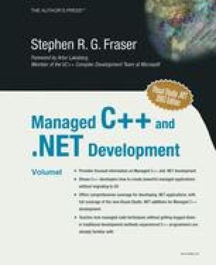Managed C++ and .NET Development