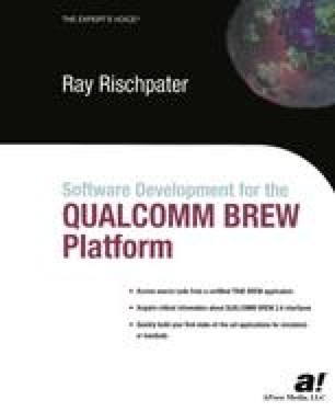 Developing Software for the QUALCOMM BREW Platform