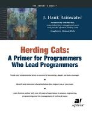 Herding Cats: A Primer for Programmers Who Lead Programmers