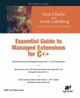 Essential Guide to Managed Extensions for C++