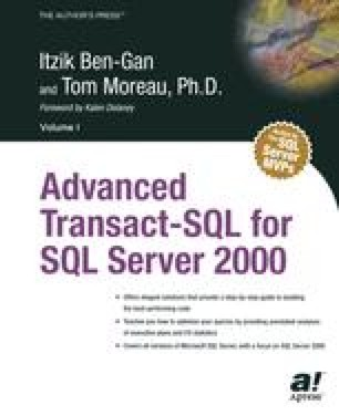Advanced Transact-SQL for SQL Server 2000
