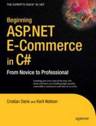 Beginning ASP.NET E-Commerce in C#