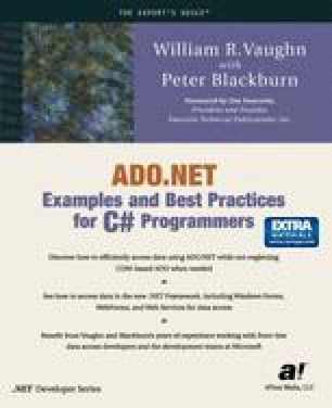 ADO.NET Examples and Best Practices for C# Programmers