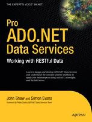 Pro ADO.NET Data Services