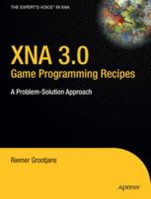 XNA 3.0 Game Programming Recipes