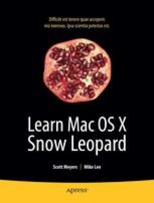 Learn Mac OS X Snow Leopard