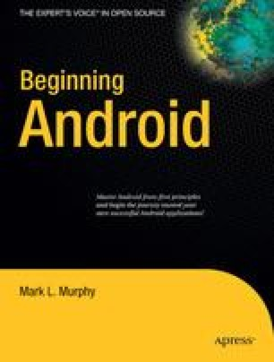 Beginning Android