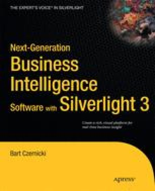 Next-Generation Business Intelligence Software with Silverlight 3