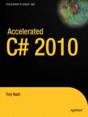 Accelerated C# 2010