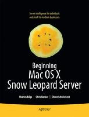Beginning Mac OS X Snow Leopard Server