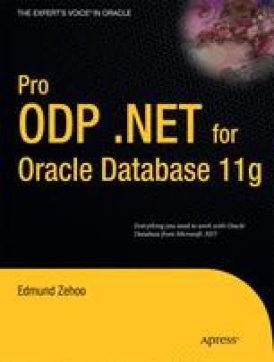 Pro ODP .NET for Oracle Database 11g
