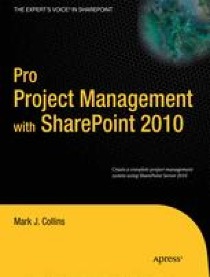Pro Project Management with SharePoint 2010