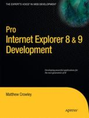 Pro Internet Explorer 8 & 9 Development